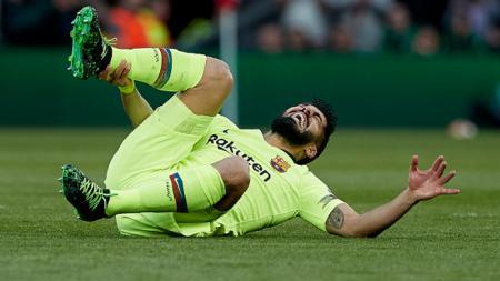 Luis Suarez di laga Liverpool vs Barcelona - INDOSPORT