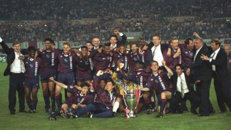 Skuat Ajax Amsterdam saat menjuarai Liga Champions, 24 Mei 1995. - INDOSPORT
