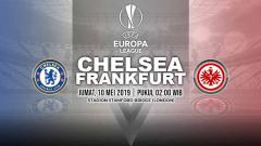 Indosport - Pertandingan Chelsea vs Frankfurt. Grafis: Yanto/INDOSPORT