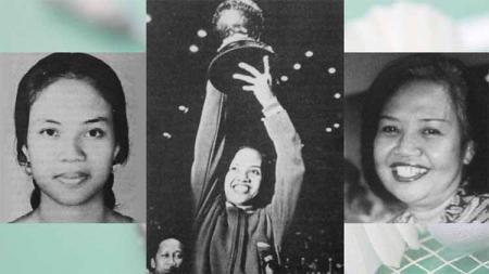 Pebulutangkis, Minarni Soedarjanto Si Nona Manis jagoan bulutangkis Indonesia. Foto: historia.id/Ensiklopedi Indonesia/Suara Karya - INDOSPORT