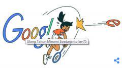 Indosport - Ilustrasi Google Doodle mantan atlet bulutangkis Indonesia (alm) Minarni Soedarjanto.