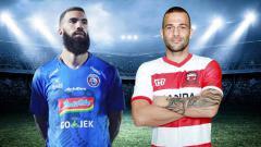 Indosport - Hitung mundur Liga 1 2019, mesin gol debutan siapa saja suksesor Comvalius dan Rakic. Foto: Instagram@sylvanocomvalius/rakic_a.9
