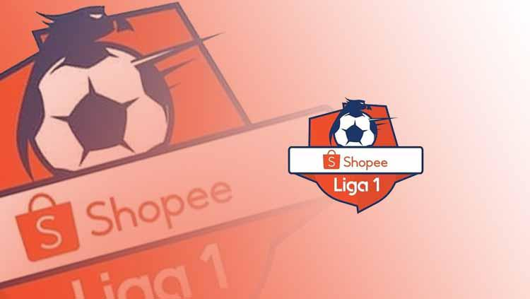 Logo Resmi Shopee Liga 1 2019. Foto: ShopeeLiga1 Copyright: ShopeeLiga1