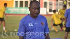 Indosport - Kas Hartadi, pelatih Sriwijaya FC