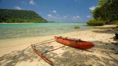 Pantai di Vanuatu - INDOSPORT