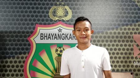 Gelandang Bhayangkara FC, Sani Rizki Fauzi. - INDOSPORT