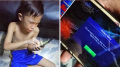 Indosport - Bocah Filipina menangis karena akun Mobile Legends-nya dibanned 30 tahun.