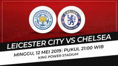Indosport - Leicester City vs Chelsea