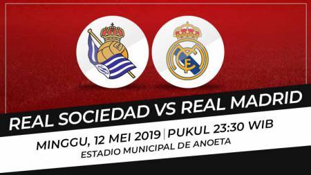 Prediksi Real Sociedad vs Real Madrid - INDOSPORT