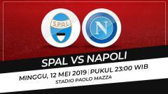 Indosport - Prediksi Spal vs Napoli