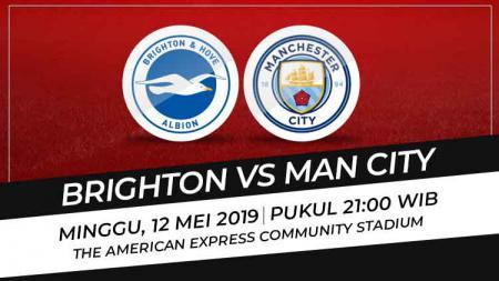 Prediksi Brighton vs Manchester City - INDOSPORT