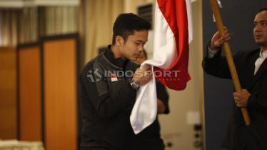 Pebulutangkis putra, Anthony Sinisuka Ginting Foto: Herry Ibrahim/INDOSPORT - INDOSPORT