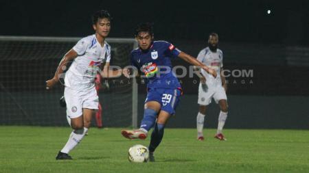 Suasana pertandingan uji coba PSIS vs Arema FC. - INDOSPORT