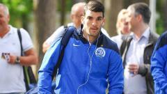 Indosport - Luka Rotkovic, striker asal Montonegro yang dikaitkan dengan Persija Jakarta