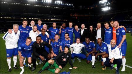 Chelsea legend yang akan diperkuat Dennis Wise dan Michael Essien bersiap menghadapi Real Madrid - INDOSPORT