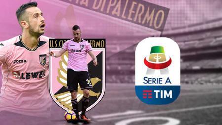 Palermo FC logo Serie A Italia - INDOSPORT
