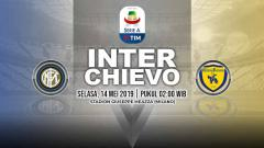 Indosport - Pertandingan Inter Milan vs Chievo. Grafis: Yanto/Indosport.com