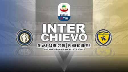Pertandingan Inter Milan vs Chievo. Grafis: Yanto/Indosport.com - INDOSPORT