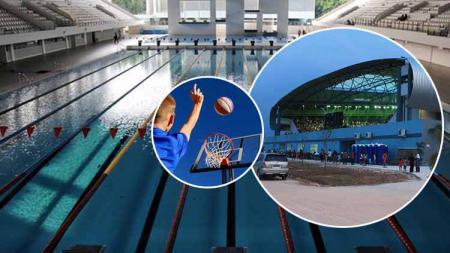 Ibu Kota RI pindah, infrastruktur olahraga baru bisa dinikmati pada 2044. Grafis: Tim/Indosport.com - INDOSPORT
