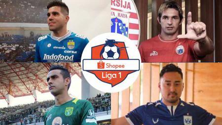 Terdapat 3 pemain naturalisasi Liga 1 2020 harga pasarnya (market value) surut tajam, termasuk ada bintang Persib Bandung. - INDOSPORT