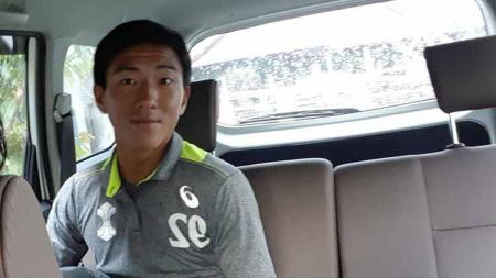 Seiya Da Costa Lay, wonderkid kelahiran Hiroshima, Jepang itu masuk ke dalam proyeksi tim Arema FC. Foto: MO Arema FC - INDOSPORT