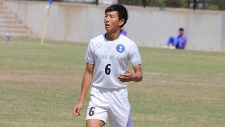Seiya Da Costa Lay, wonderkid kelahiran Hiroshima, Jepang itu masuk ke dalam proyeksi tim Arema FC yang akan berlaga di Liga 1 elit pro U-18 musim ini. Foto: MO Arema FC - INDOSPORT
