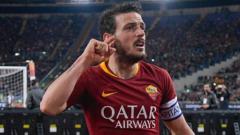 Indosport - Inter Milan punya dua cara dapatkan Alessandro Florenzi, kapten AS Roma.