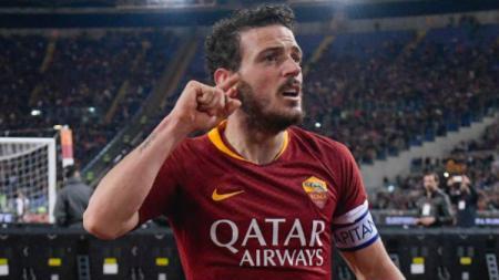 Alessandro Florenzi atau Nicolo Zaniolo akan menjadi tumbal As Roma demi mendapatkan Toby Alderweireld dari Tottenham Hotspur. - INDOSPORT