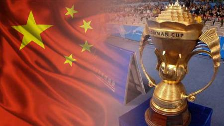 Bendera China dan Piala Sudirman. Grafis: Tim/Indosport.com - INDOSPORT