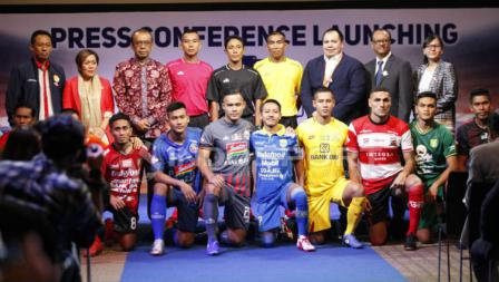 Launching Shopee Liga 1 2019. Foto: Herry Ibrahim/INDOSPORT