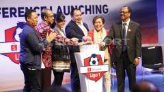 Indosport - Shopee Liga 1 2019 telah resmi diluncurkan, Senin (13/05/19). Foto: Herry Ibrahim/INDOSPORT