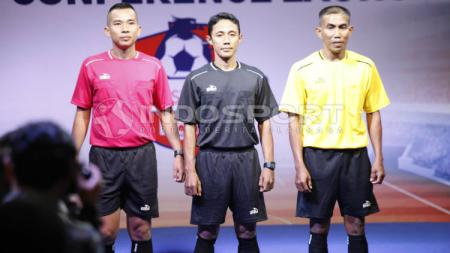 Wasit untuk Liga 1 2019. Foto: Herry Ibrahim/INDOSPORT - INDOSPORT