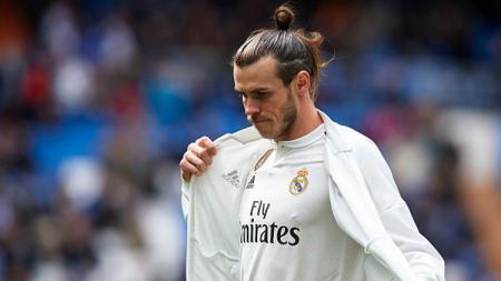 Gareth Bale kembali membuat ulah setelah kedapatan tidur di bangku cadangan saat laga LaLiga Spanyol antara Real Madrid vs Alaves, Sabtu (11/07/20) lalu. - INDOSPORT