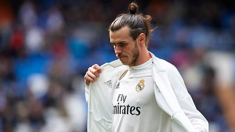 Pemain bintang Real Madrid, Gareth Bale besar kemungkinan akan dilepas seiring berakhirnya musim 2018-19.jpg Copyright: Quality Sport Images / GettyImages