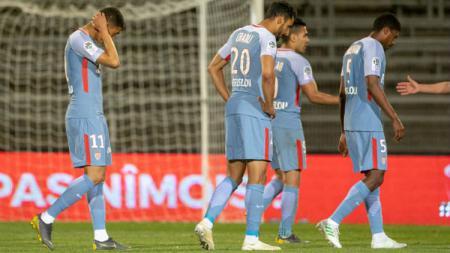 AS Monaco terancam dedgradasi dari Ligue 1 Prancis. Foto: Tim Clayton-Corbis via Getty Images. - INDOSPORT