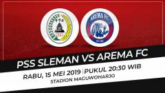 Indosport - Prediksi PSS Sleman vs Arema FC