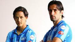 Indosport - Irfan Bachdim pernah membela Chonburi FC di kancah Liga Primer Thailand musim 2013.