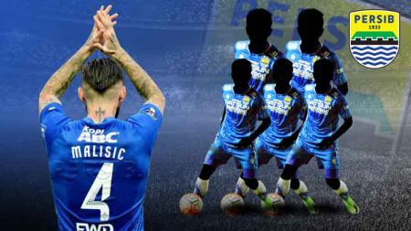 Sedikitnya ada 4 eks legiun asing Persib Bandung yang mungkin dapat dibawa Persik Kediri untuk tampil di ajang Liga 1 2020. - INDOSPORT