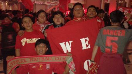 Komunitas pendukung Liverpool, The Reds Tangerang Selatan. - INDOSPORT