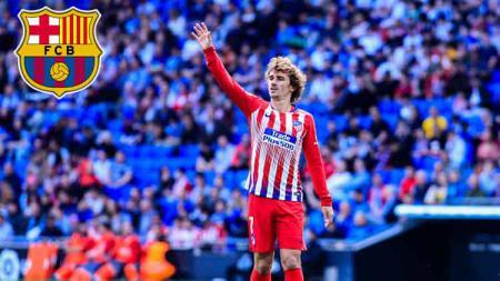 Striker Atletico Madrid, Antoine Griezmann dilaporkan segera resmi ke Barcelona. - INDOSPORT