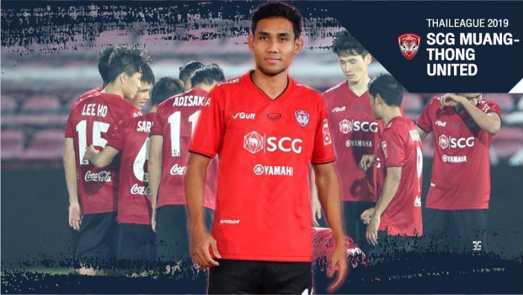 Jersey Muangthong United untuk Thai League 1 2019 (Foto: sport.trueid.net) Copyright: sport.trueid.net