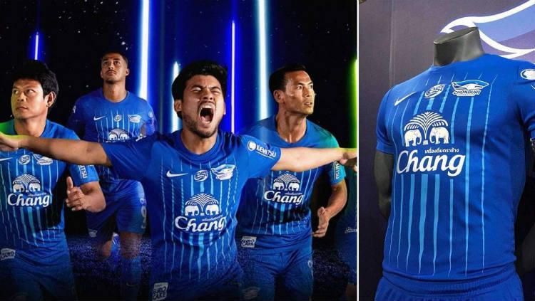 Jersey Chonburi FC untuk Thai League 1 2019 (Foto: Fox Sports Asia) Copyright: Fox Sports Asia