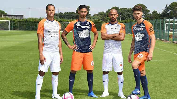 Jersey Montpellier musim 2018/19. Copyright: fashion.org