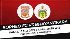 Indosport - Prediksi Borneo FC vs Bhayangkara FC