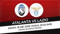 Indosport - Final Coppa Italia 2019 antara Atalanta vs Lazio.