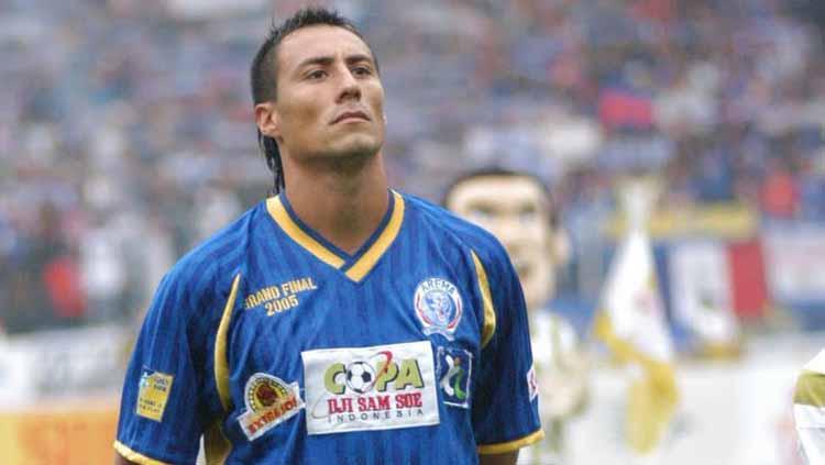 Franco Hita legenda Arema FC Copyright: Instazu