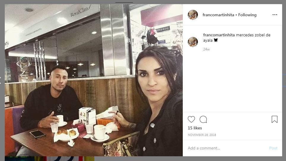 Franco Hita dan Istri Copyright: https://www.instagram.com/francomartinhita/