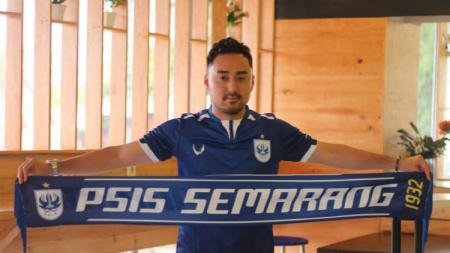 Shohei Matsunaga saat diperkenalkan oleh PSIS Semarang untuk Liga 1 2019. (Foto: Media PSIS) - INDOSPORT