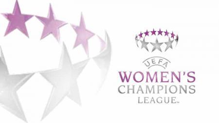 Logo Liga Champions Wanita. Grafis: Tim/Indosport.com - INDOSPORT