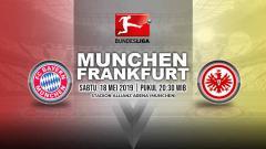 Indosport - Pertandingan Bayern Munchen vs Eintracht Frankfurt. Grafis: Yanto/Indosport.com